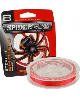 Tresses Spiderwire Stealth Smooth 8 Red 150M
